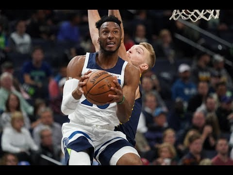 Full Game Highlights: Minnesota Timberwolves vs Indiana Pacers - 10/22/18