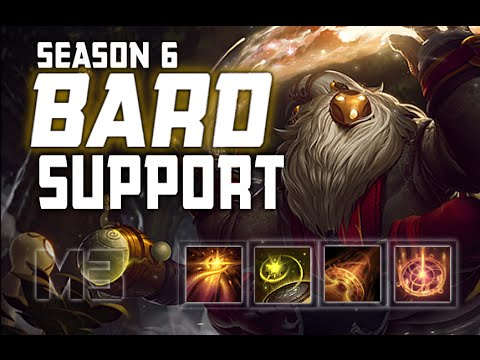 How To Play Bard Support Season 6 League Of Legends Guide