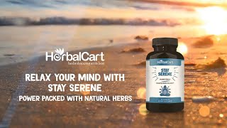 Natural Supplement For Anxiety Relief - HerbalCart