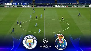 MAN. CITY - FC PORTO | UEFA Champions League Group Stage 2020/21 Matchday | eFootball