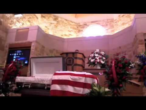 Travis (Ted) E. Wheeler's Funeral Service