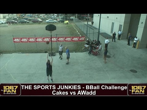 The Sports Junkies B-Ball Challenge Cakes vs AWadd FULL VIDEO