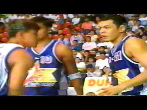 Manila vs  Pampanga Game 3 Oct  31 1999 MBA