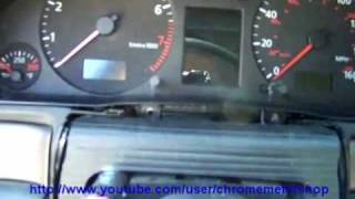 instrument cluster removal audi a4 s4 a6