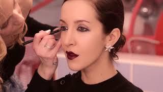 ➤ Make-UP для Матильды Шнуровой | Образ: Темная помада и Прямое каре | Beauty Vlog Глюк'oZа