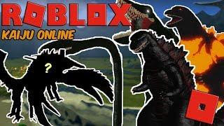 Roblox Kaiju Online - A NEW KAIJU HAS ARRIVED! + GETTING SHIN AND BIOLLANTE!