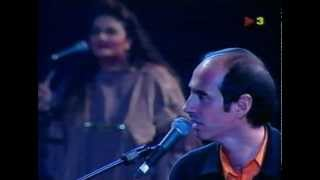 """Lluís Llach amb Nena Venetsanou i Amina Alaoui - """" Et deixo un pont de mar blava """""""