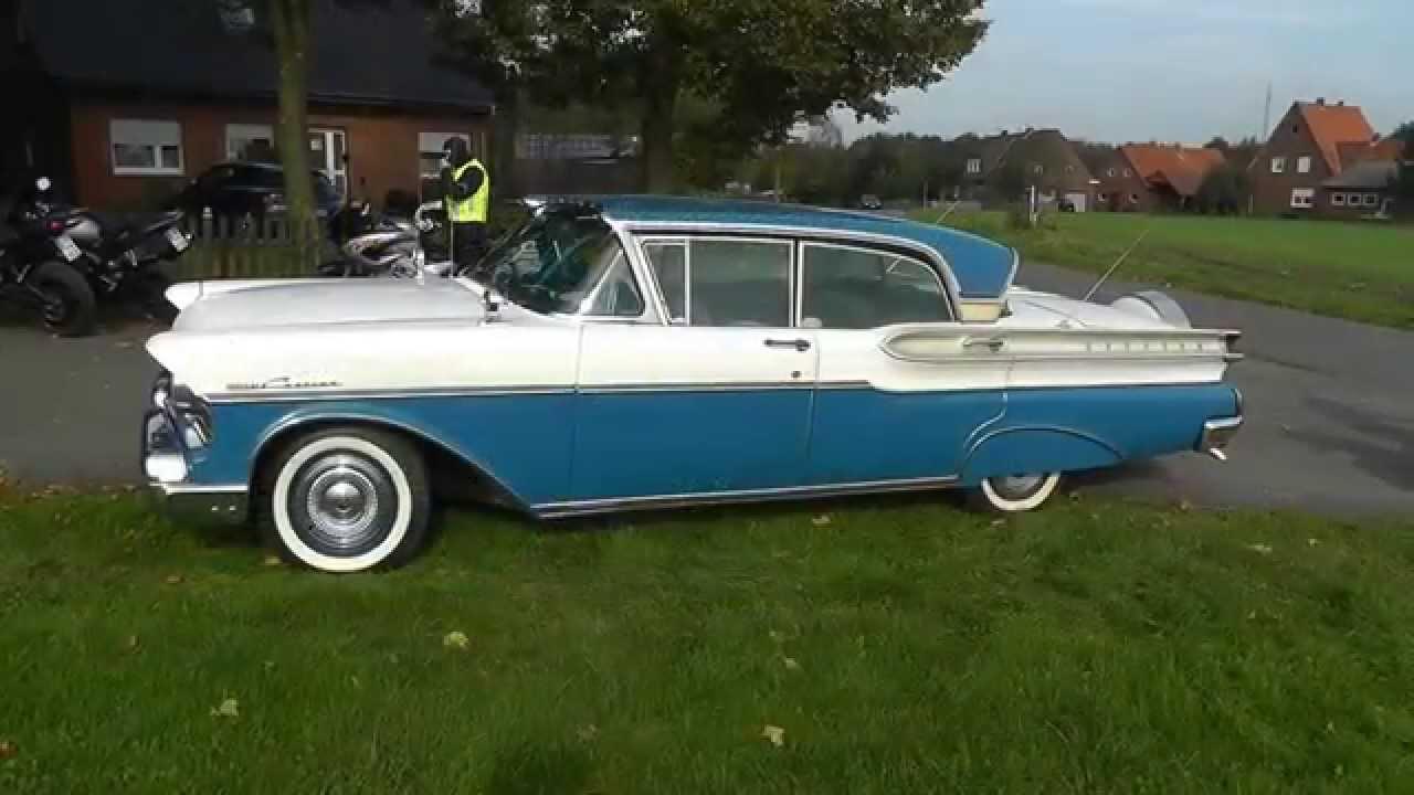 Mercury Turnpike Cruiser 1957  YouTube