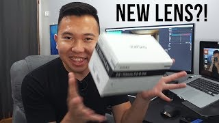 Unboxing a New Lens and...