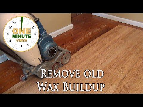 - Remove Old Hardwood Floor Wax Build Up - Quick Video Too