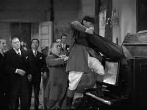 The Three Stooges Moe Larry Curly Cats In A Piano Youtube