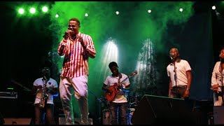 BRUCE MELODY performing at CHAKA CHAKA & KNC - Legends Alive Vip Show Kigali 2018