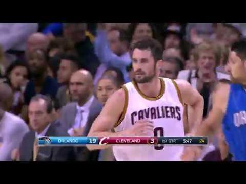 LeBron James Triple Double Kevin Love Adds 28! | April 4, 2017