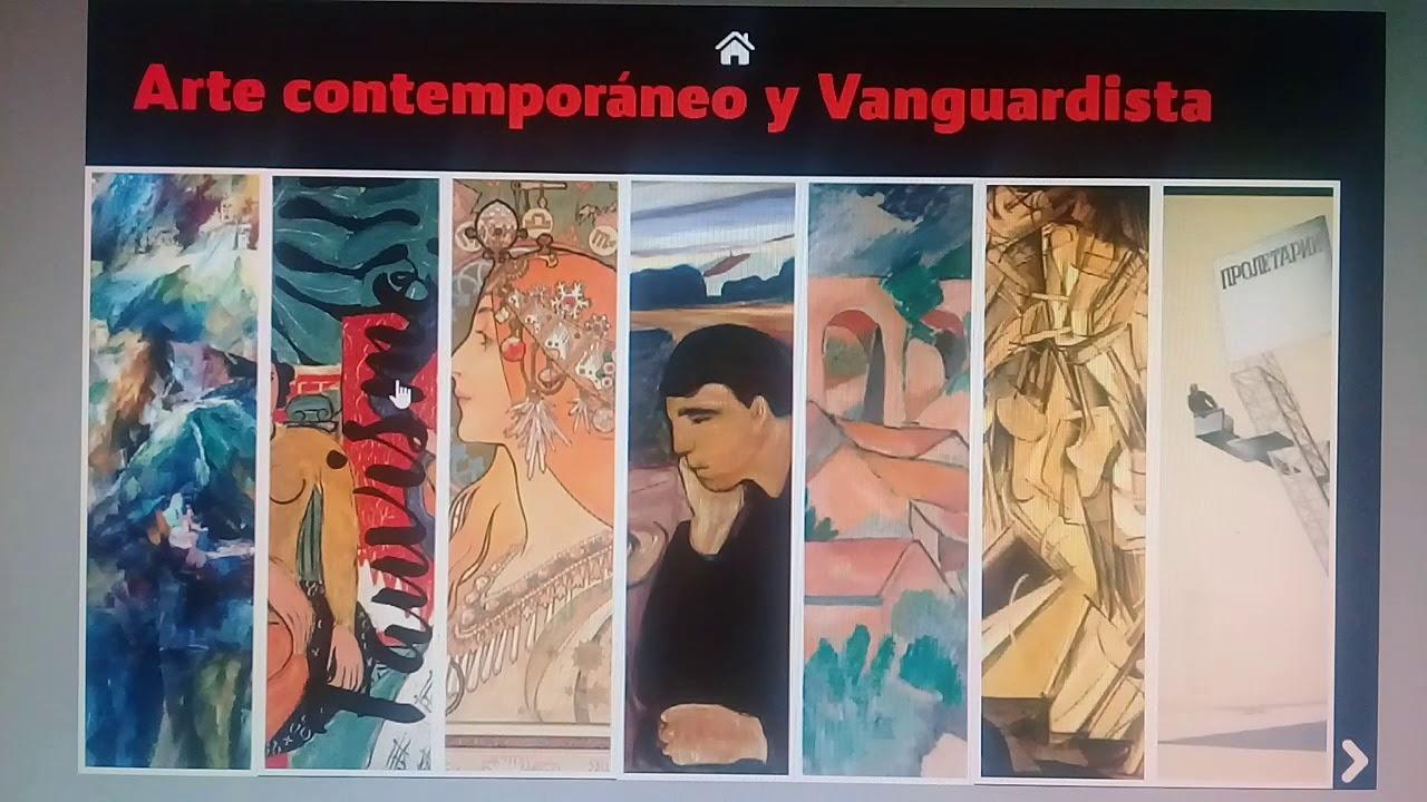 Edad contemporánea arte