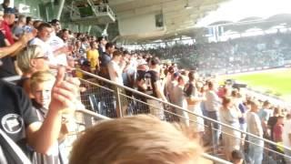 Sk Sturm Graz : Rapid Wien 10. Sept. 2016 1:1, Stimmung im Stadion