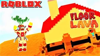 🔥ESCAPE THE FLOOR IS LAVA!! | Weird Side of Roblox: The Floor Is Lava