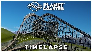 planet coaster timelapse pinewood peak 5 rmc hybrid lift effects