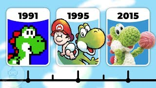 The Evolution of Yoshi Games | The Leaderboard