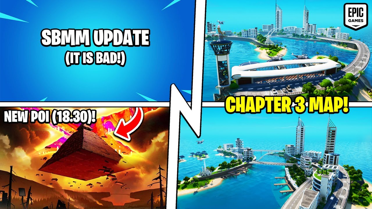 *ALL* Chapter 3 Map Teasers, SBMM Update (It's Bad), Cube Pyramid POI!