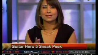 "Sneak Peek - ""Guitar Hero 5"" Out Tomorrow - Bloomberg"