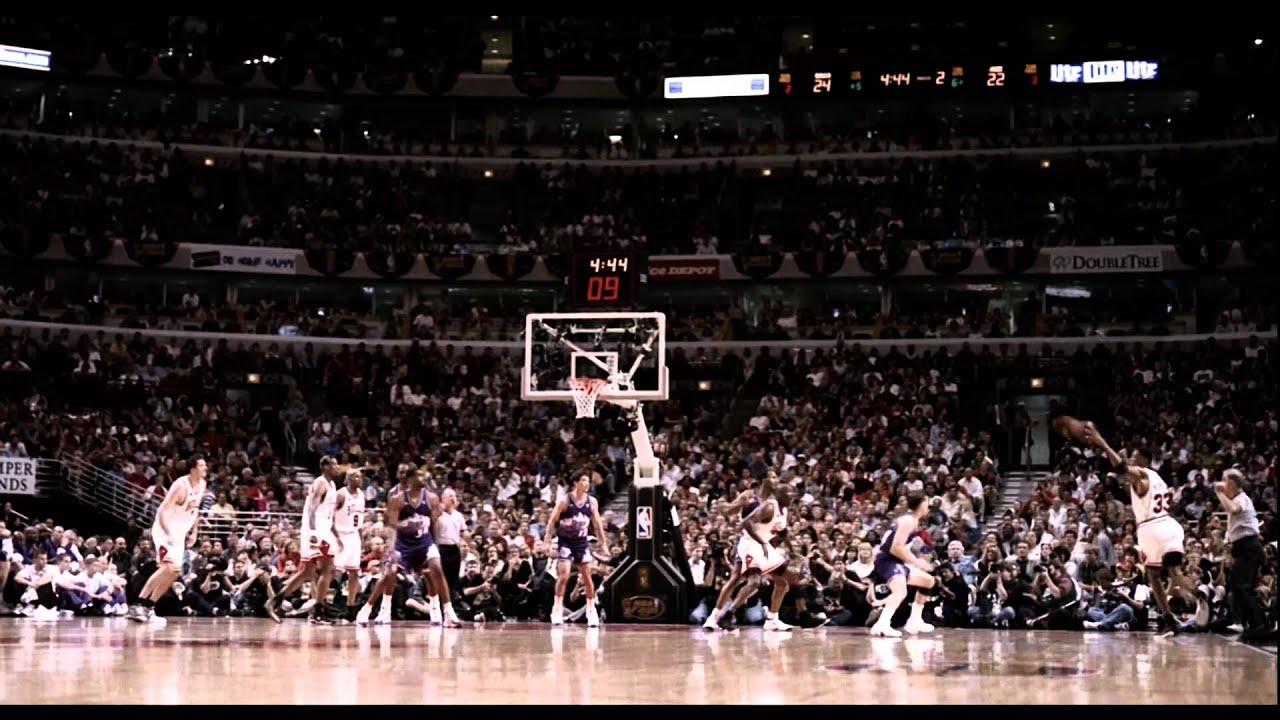 Michael Jordan SICK rainbow fadeaway (1080p) - YouTube