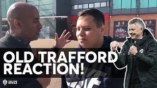 SOLSKJAER SIGNS FOR MAN UTD! | Reaction Outside Old Trafford