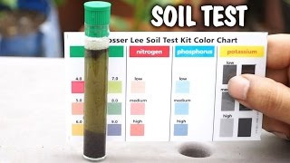 How to test your garden soil for pH & nutrients using a soil testing kit