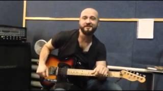 Олександр Грищук (С.К.А.Й.) - Відео уроки гри на гитарі (анонс)