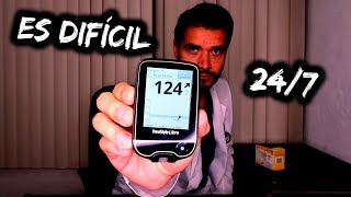 24 HORAS VIVIENDO CON DIABETES | DOCTOR VIC