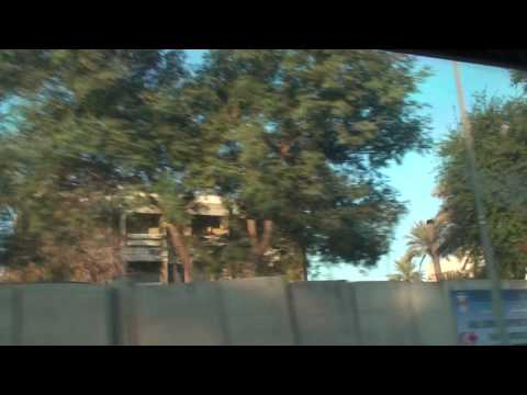 Traveling via MRAP inside the Green/International Zone of Baghdad, Iraq Nov 08
