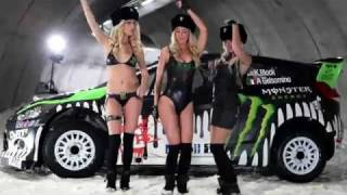 Monster world rally Fiesta wrc 2011 Ken Block Launch Sweeden. GO KE...