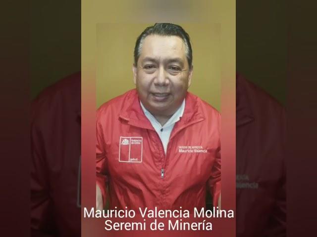 Mauricio Valencia, Seremi de Minería