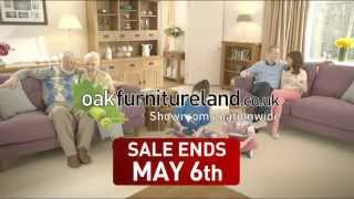 The Oak Furniture Land May Time Bank Holiday Sale