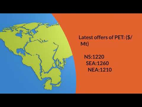 Daily Video News : PET 24.4.18.Join PolymerBazaar delegation at Taipei Plast 18.
