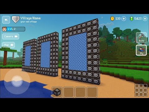 Block Craft 3D : Building Simulator Games For Free Gameplay#347 (iOS & Android)| Biggest Portal Ever