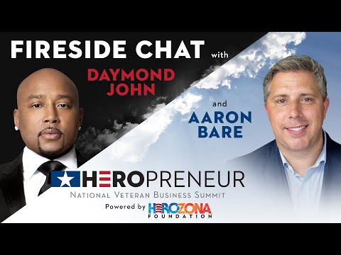 Fireside Chat with Daymond John & Aaron Bare