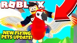NEW FLYING PETS UPDATE in Adopt Me! FLYING POTION Update (Roblox)