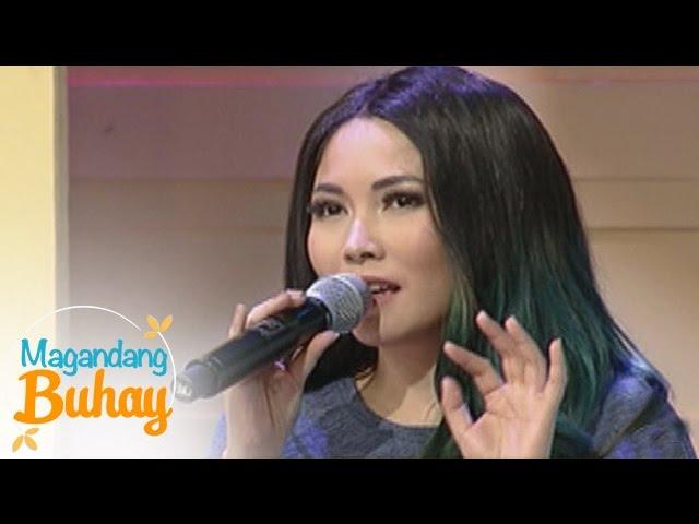 """Magandang Buhay: Yeng Constantino sings """"Ikaw"""""""
