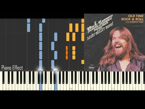 Bob Seger - Old Time Rock & Roll (Piano Tutorial Synthesia)