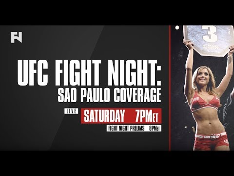 UFC Fight Night Sao Paulo Prelims LIVE Sat., Oct. 28 In Canada On Fight Network