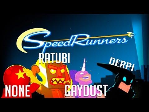 AHORA MAS RAPIDO   Speedrunners #2 #Rageduels vs/ None, Zellen y Eruby