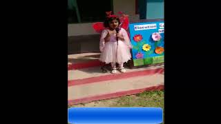 Wafa Zainab VideosSchool Poem| APS School Func girl Sing|KG Student|Play Group Student