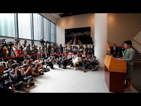 Carrie Lam says dialogue will continue despite difficulties 林鄭月娥:「無論有幾艱難,我哋一定會持續進行社區對話」