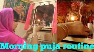 My Morning puja routine,subah ki puja kaise kare,anvesha,s creativity