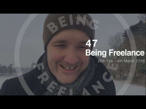 The challenge of outsourcing - 47 Being Freelance Weekly Vlog