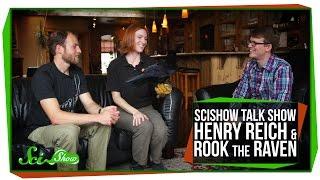 SciShow Talk Show: Henry Reich & Rook the Raven