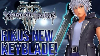 KINGDOM HEARTS 3 - RIKUS NEW KEYBLADE, NEW OUTFITS AND THE LINK SYSTEM