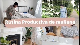 🌞Rutina de mañana PRODUCTIVA 6AM / ☕Tips para ser + PRODUCTIVO #AD Movavi Video Editor Plus 2020