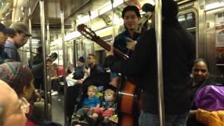 NYC Subway: Xmas Eve 2015