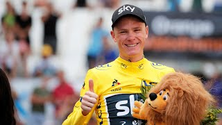 Chris Froome came third in the time trial stage, the penultimate stage of the 2017 Tour de France, but extended his overall lead to 54 seconds, all but ...